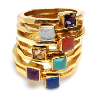 Wendy Mink Stackable Rings $30 Each
