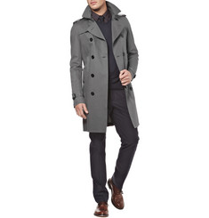 Burberry Double Breasted Trench Coat 1840