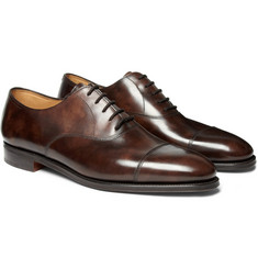 John Lobb Calf Leather Oxfords $1,170
