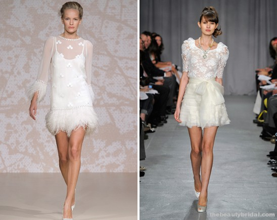 Knee-length-short-Wedding-Dress-Trends-for-2011